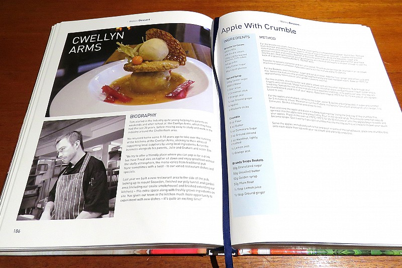 The Great British Cook Book featuring our Head Chef Thomas
